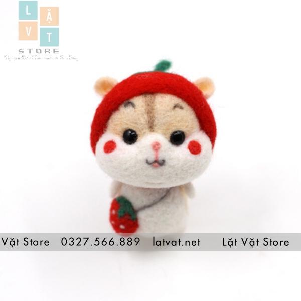 hamster dâu đỏ